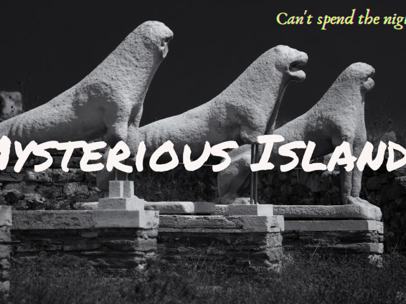 haunted greek islands